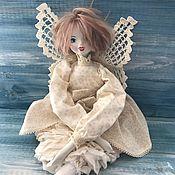 Куклы и игрушки ручной работы. Ярмарка Мастеров - ручная работа Кукла текстильная Ася в смешанной технике. Handmade.