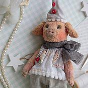 Куклы и игрушки ручной работы. Ярмарка Мастеров - ручная работа Поросенок Плюх. Handmade.