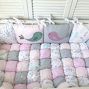 Работы для детей, handmade. Livemaster - original item Set in a bed a birdie. Handmade.