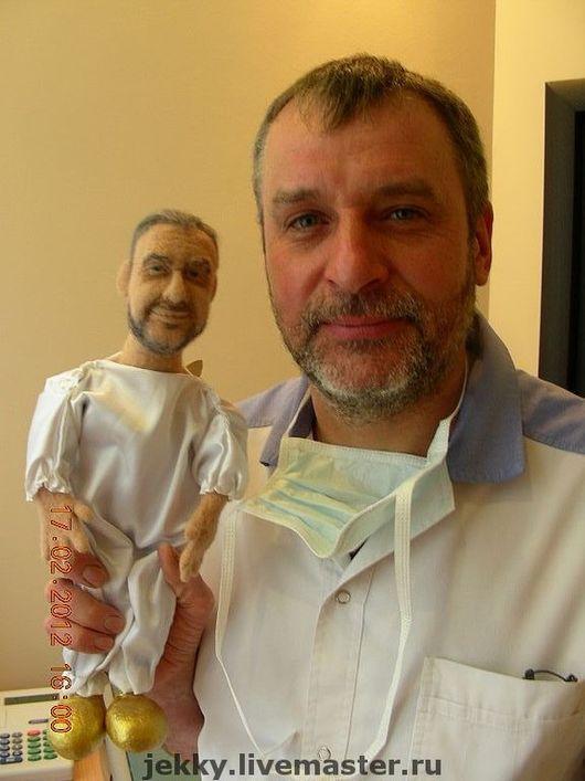 Портретные куклы ручной работы. Ярмарка Мастеров - ручная работа. Купить Портретная кукла  на заказ по фото Зубной Фей. Handmade.