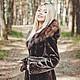 Fur beaver coat with hood, Fur Coats, Moscow,  Фото №1