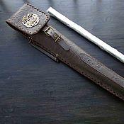 Подарки к праздникам handmade. Livemaster - original item Quiver for skewers with casting. Handmade.