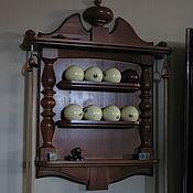 Для дома и интерьера ручной работы. Ярмарка Мастеров - ручная работа Бильярдная киёвница настенная. Handmade.