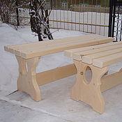 Для дома и интерьера handmade. Livemaster - original item Bath bench from an array of Altai cedar. Handmade.