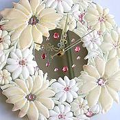 Для дома и интерьера handmade. Livemaster - original item watch glass, fusing Marshmallows with Vanilla. Handmade.