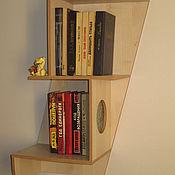 Необычные книжные полки - купить на Ярмарке мастеров с доста.