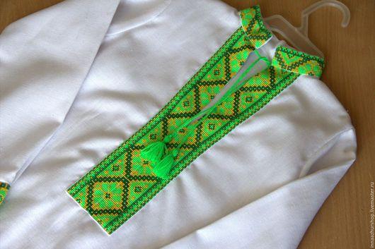 Одежда для мальчиков, ручной работы. Ярмарка Мастеров - ручная работа. Купить Рубашка вышитая на мальчика. Handmade. Белый, рубашка с вышивкой