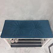 Для дома и интерьера handmade. Livemaster - original item Pillow seat on the bench or Shoe Cabinet. Handmade.