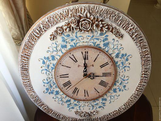 Часы для дома ручной работы. Ярмарка Мастеров - ручная работа. Купить Часы настенные,по мотивам Благородная классика. Handmade. Часы
