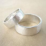 Свадебный салон ручной работы. Ярмарка Мастеров - ручная работа Обручальные кольца Кованые. Handmade.