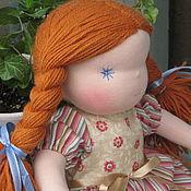 Куклы и игрушки ручной работы. Ярмарка Мастеров - ручная работа Кукла с рыжими волосами. Handmade.