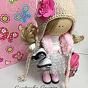 Куклы и игрушки ручной работы. Ярмарка Мастеров - ручная работа Кукла текстильная ручной работы.. Handmade.