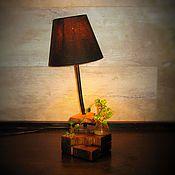 Для дома и интерьера ручной работы. Ярмарка Мастеров - ручная работа Настольный светильник Слип. Handmade.