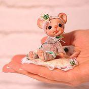 Куклы и игрушки ручной работы. Ярмарка Мастеров - ручная работа мышка Аделя. Handmade.