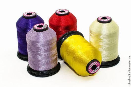 Шитье ручной работы. Ярмарка Мастеров - ручная работа. Купить Нитки швейные, вышивальные, для стежки Aurora. Handmade. Нитки для вышивания