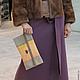 Женские сумки ручной работы. Ярмарка Мастеров - ручная работа. Купить Клатч женский. Handmade. Бежевый, клатч, авторский клатч
