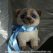 Куклы и игрушки ручной работы. Ярмарка Мастеров - ручная работа кот Василёк. Handmade.