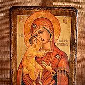 Картины и панно handmade. Livemaster - original item THE THEODOROV ICON OF THE MOTHER OF GOD. Handmade.