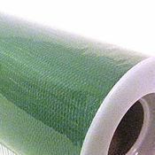 Материалы для творчества ручной работы. Ярмарка Мастеров - ручная работа Зеленый изумруд (emerald) Нейлоновый фатин в роллах. Handmade.