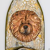Картины и панно handmade. Livemaster - original item Decorative bottle -