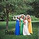 Платья ручной работы. Платья-трансформеры для подружек невесты разноцветные. Dudu-dress. Ярмарка Мастеров. Невеста, платья на свадьбу