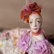 Куклы и игрушки ручной работы. Ярмарка Мастеров - ручная работа Коллекционная кукла-бабочка Агриппина подвижная будуарная кукла. Handmade.