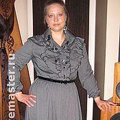 """Одежда ручной работы. Ярмарка Мастеров - ручная работа Платье """"Серая романтика"""". Handmade."""