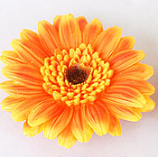 Материалы для творчества handmade. Livemaster - original item Silicone molds for soap gerbera large. Handmade.