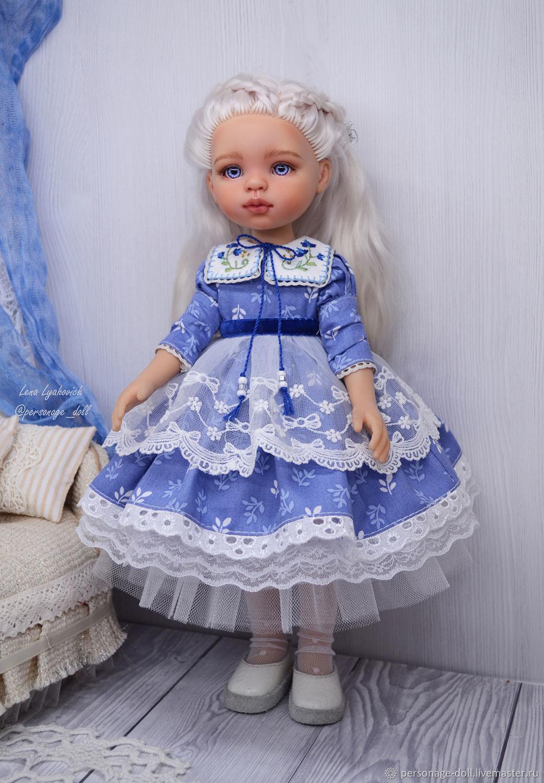 """Платье для куклы Paola Reina """"Аннет"""" синее, Одежда для кукол, Симферополь,  Фото №1"""