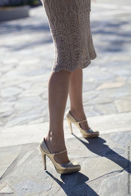 """Платья ручной работы. платье """"Барокко"""". Jannetta knits  Luxury handmade. Ярмарка Мастеров. Шелк"""