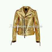 Одежда handmade. Livemaster - original item Jacket from natural Python skin