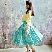 Одежда handmade. Livemaster - original item Skirt the sun
