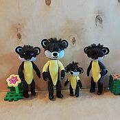 Куклы и игрушки handmade. Livemaster - original item Brothers Harza m / f Leo and TIG. Handmade.