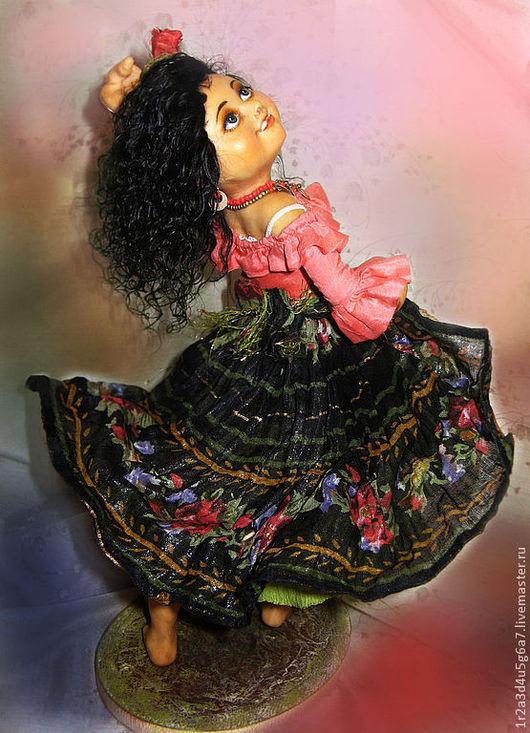 Коллекционные куклы ручной работы. Ярмарка Мастеров - ручная работа. Купить Маленькая цыганочка. Handmade. Куклы и игрушки, коллекционная кукла