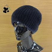 Аксессуары handmade. Livemaster - original item Caps: Elegant ladies hat made of fur Finnish mink. Art.DF-28. Handmade.