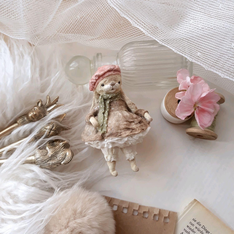 Ватная елочная игрушка Зайка, Елочные игрушки, Йошкар-Ола,  Фото №1