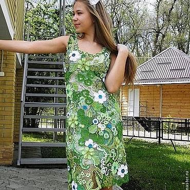 Одежда ручной работы. Ярмарка Мастеров - ручная работа ВЭснА))) Платье ирландским кружевом. Handmade.