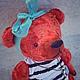 Мишки Тедди ручной работы. Ярмарка Мастеров - ручная работа. Купить Мишка Пеппи. Handmade. Мишка, Плюшевый мишка