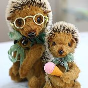 Куклы и игрушки handmade. Livemaster - original item clever hedgehog. Handmade.