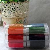 Нитки швейные набор 24 цвета