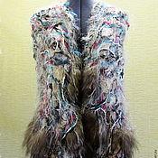 Одежда ручной работы. Ярмарка Мастеров - ручная работа Жилет Степной ветер. Handmade.