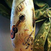 """Для дома и интерьера ручной работы. Ярмарка Мастеров - ручная работа Ваза """"Музыка для души"""". Handmade."""