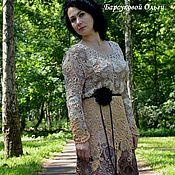 """Одежда ручной работы. Ярмарка Мастеров - ручная работа Ирландское кружево платье """" Все может быть"""". Handmade."""