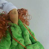 Куклы и игрушки ручной работы. Ярмарка Мастеров - ручная работа Текстильная кукла тильда. Снежинка Ёлочкина.. Handmade.