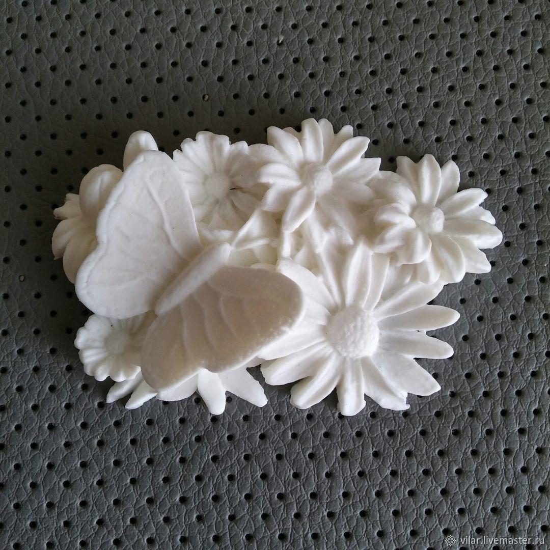 Бабочка на цветах, Материалы, Балашиха, Фото №1