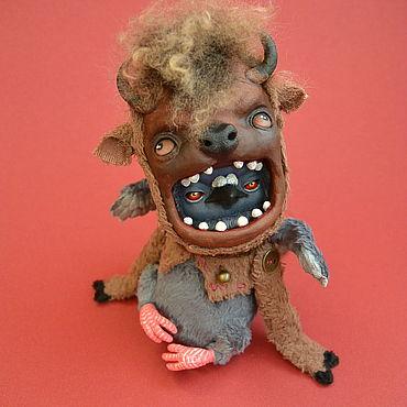 Куклы и игрушки ручной работы. Ярмарка Мастеров - ручная работа Гуль Бизон. Handmade.