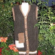 Одежда ручной работы. Ярмарка Мастеров - ручная работа Кардиганы пуховые мужские. Handmade.