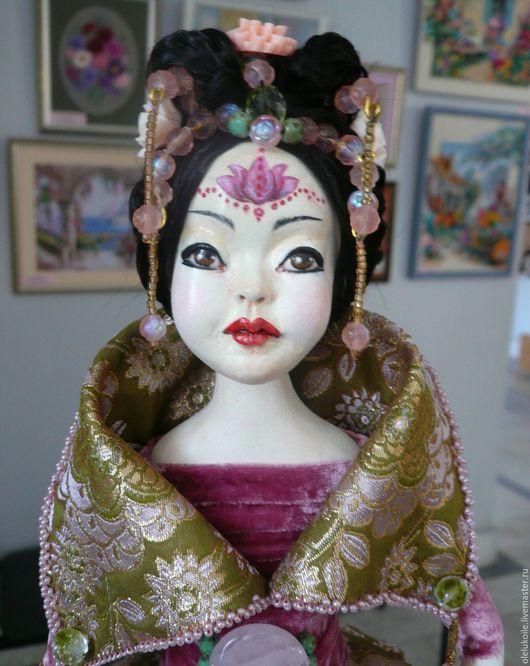 Коллекционные куклы ручной работы. Ярмарка Мастеров - ручная работа. Купить Музыкальная кукла Лотос. Handmade. Кукла ручной работы