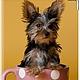 """Аксессуары для собак, ручной работы. Заказать Вет.паспорт """"Чаепитие"""" (кожа). Анастасия (sollisy). Ярмарка Мастеров. Натуральная кожа, собака"""