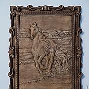 Картины и панно ручной работы. Ярмарка Мастеров - ручная работа Лошадь. Handmade.